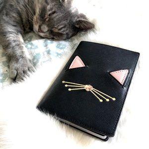 Kate Spade Kitty Passport Holder 🐱